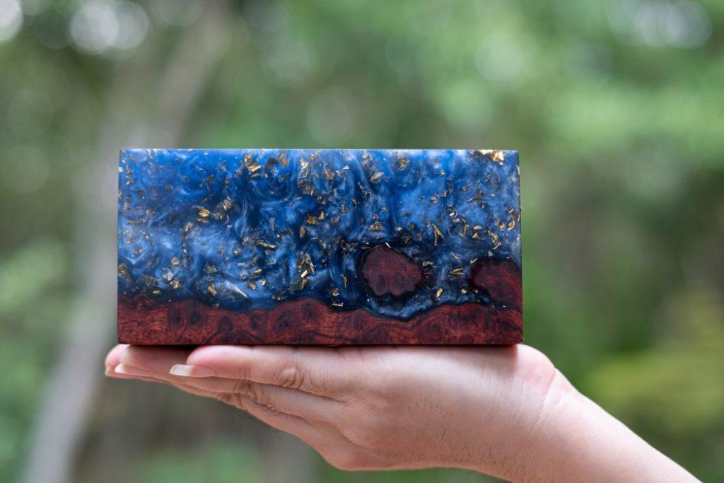 epoxy resin block